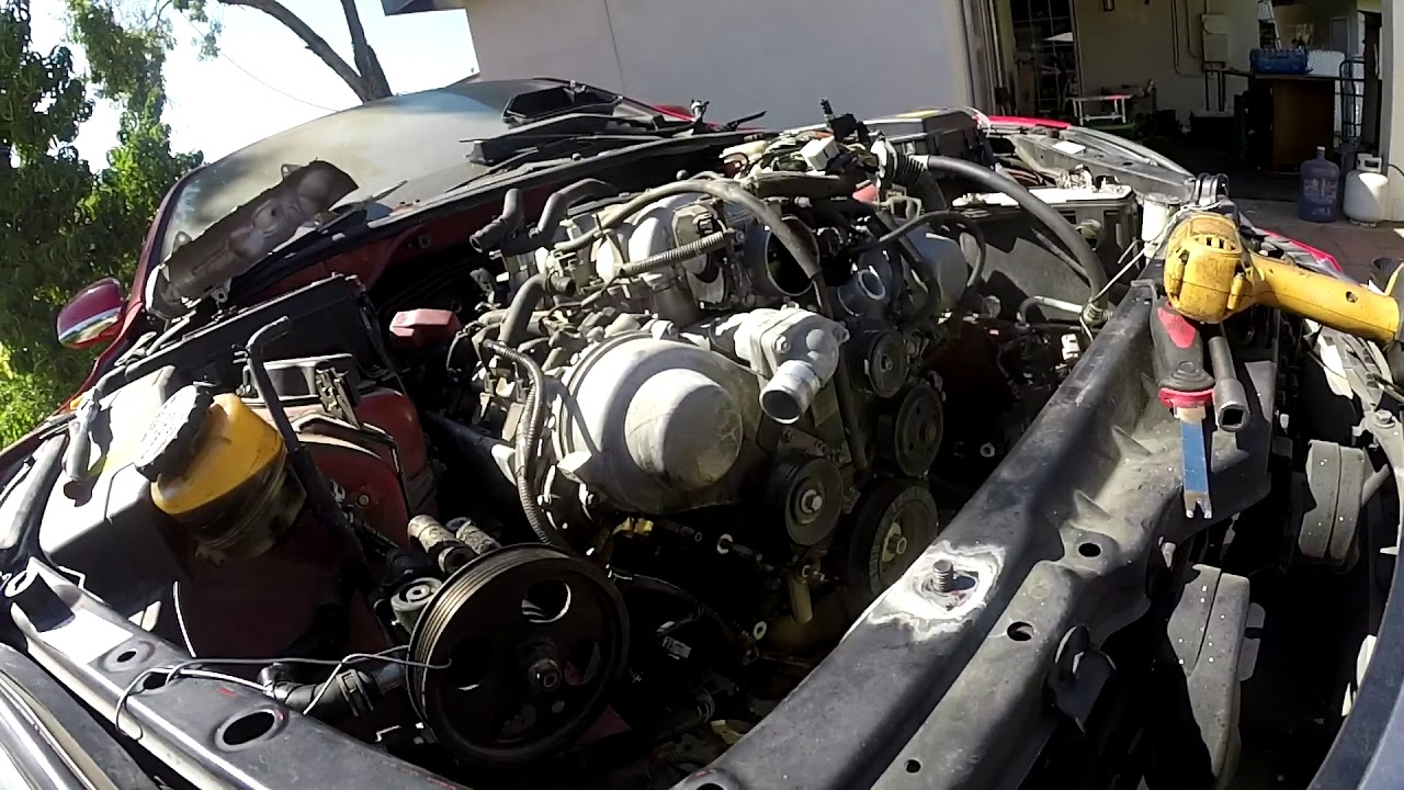 hight resolution of lexus sc430 or ls430 engine replace youtube lexus ls430 engine diagram