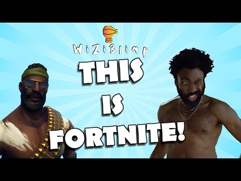This is FORTNITE - This is America Recreation