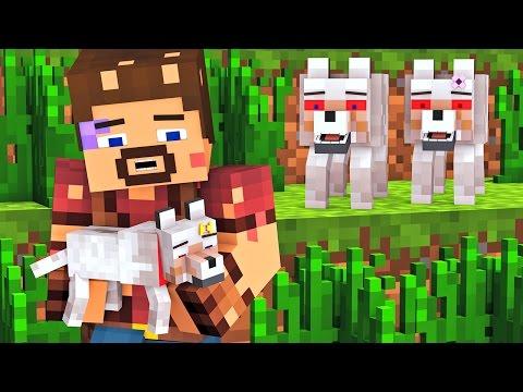 Wolf Life 4 - Minecraft Animation