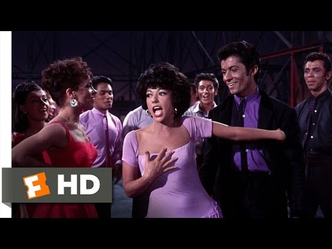 West Side Story (4/10) Movie CLIP - America (1961) HD
