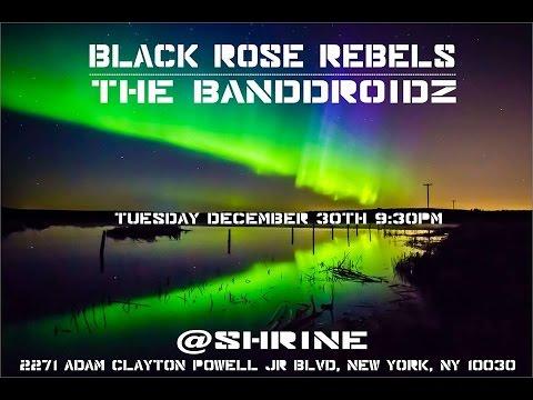 Fillet Of Soul, Black Rose Rebels and Bandroidz at The Shrine(Harlem) 30th Dec 2014