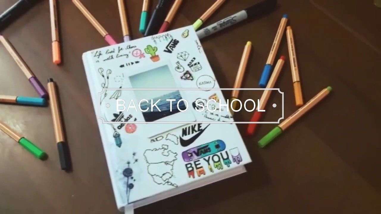 Diy Backtoschool Decoro Il Mio Diario Be You Tumblr 2018 Beyou19