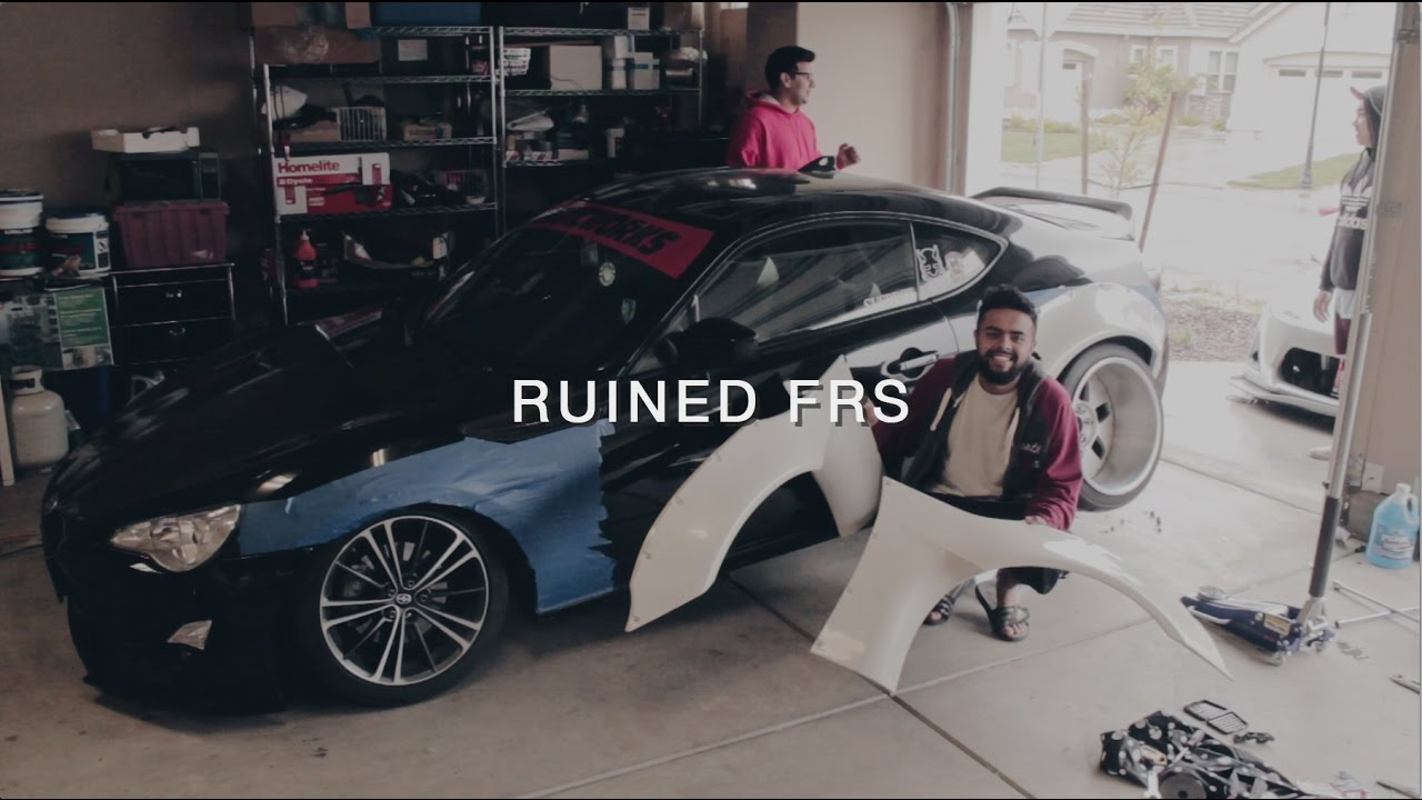 How to install a widebody kit rocket bunny v2 install frs brz