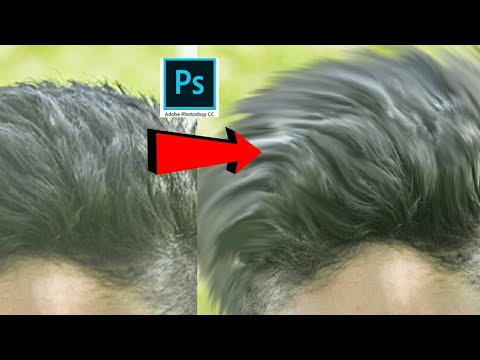 How To Edit Hair In Photoshop Cc In PC And Hindi