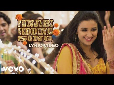 Punjabi Wedding Song Lyric