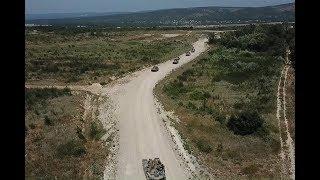 Розыгрыш первого тактического эпизода на учении «Славянское братство-2018»
