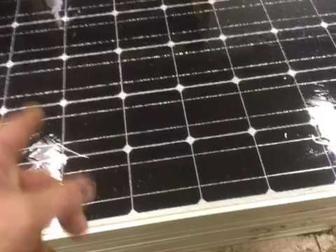How To Fix Repair A Broken Solar Panel Pv Youtube