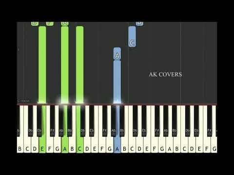 ENGEYUM KADHAL - THEE ILLAI SONG PRELUDE | Keyboard notes | Harris Jayaraj |