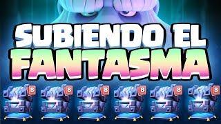 ABRIENDO COFRES HASTA QUE SUBA EL FANTASMA A NIVEL 2 | Clash Royale