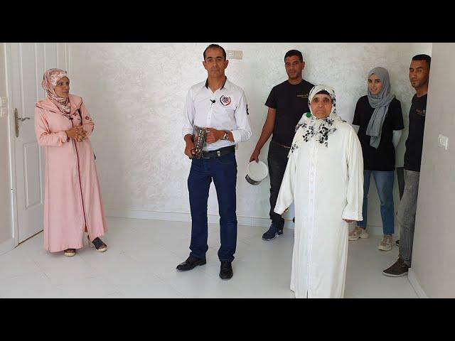 أخيرا نادية بنت لالة حادة تشارككم شقتها الجديدة من بعدما صبغاتها