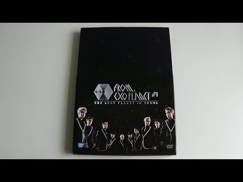 Unboxing EXO 엑소 FROM. EXO PLANET #1 THE LOST PLANET IN SEOUL Concert DVD