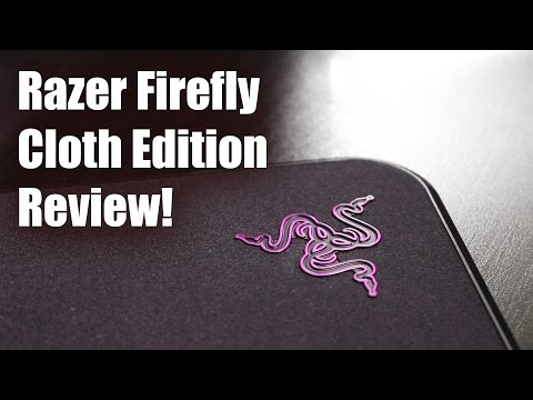 A Light up Mouse Pad?! - Razer Firefly Cloth Edition Review!