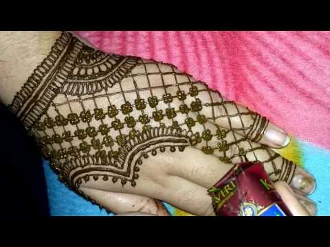 Easy And Simple Heena Arabic Mehndi Designs For Hands 2017 Made By Avni Mehndi Arts