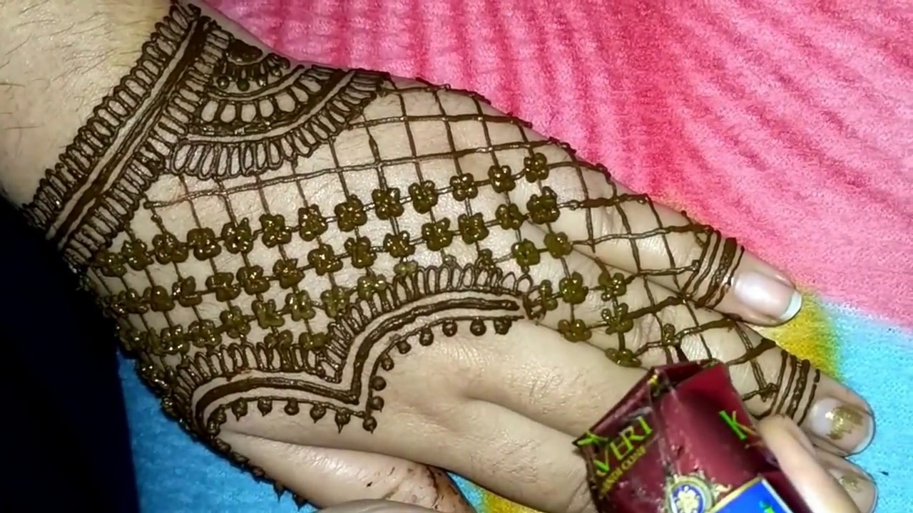 Mehndi design 2017 images - Easy And Simple Heena Arabic Mehndi Designs For Hands 2017 Made By Avni Mehndi Arts