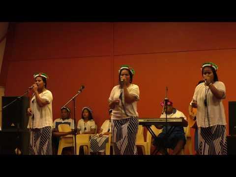 Kiribati Youth-Tabukin Tion   Singing Tuvalu Song - Faleumu 2018