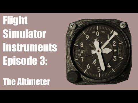 How to Make an Altimeter for a Flight Simulator with MobiFlight | Captain Bob