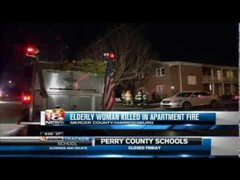 Harrodsburg Woman Killed In Fire