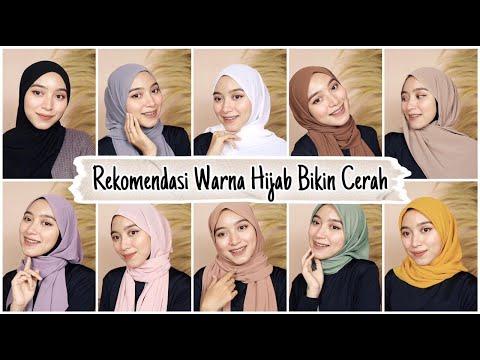AWAS SALAH WARNA!! Tips Rekomendasi Warna Hijab Yang Wajib Dibeli ll Bisa Bikin Cerah - YouTube