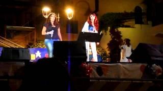 """""""Canterino 2013"""" P. Ercole - Fabiana e Corinne - Luce (Come speak to me)"""