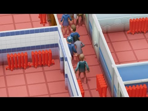 Building a Hospital that actively tries to kill its patients in Two Point Hospital