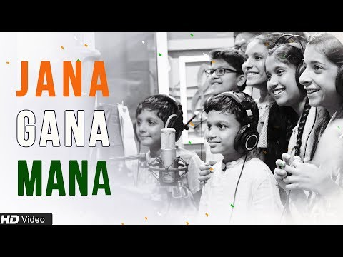 Jana Gana Mana | National Anthem by Children | Independence Day Special 2018