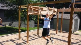 American Ninja Warrior Course-Homemade