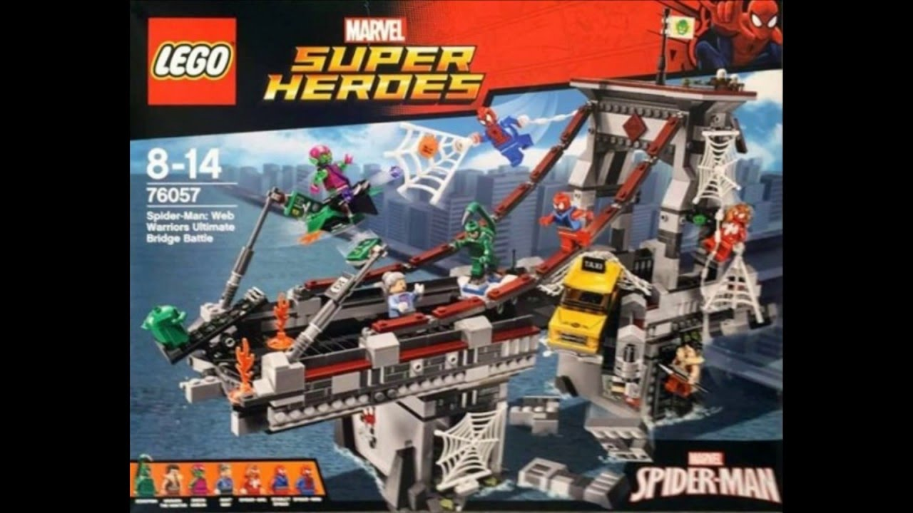 lego spider man 3 sets - photo #45