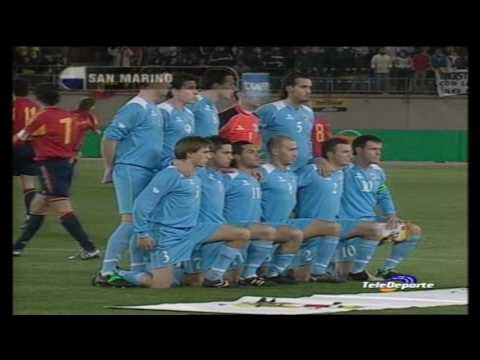 Spain - San Marino (2006. World Cup Germany - Qualifer)