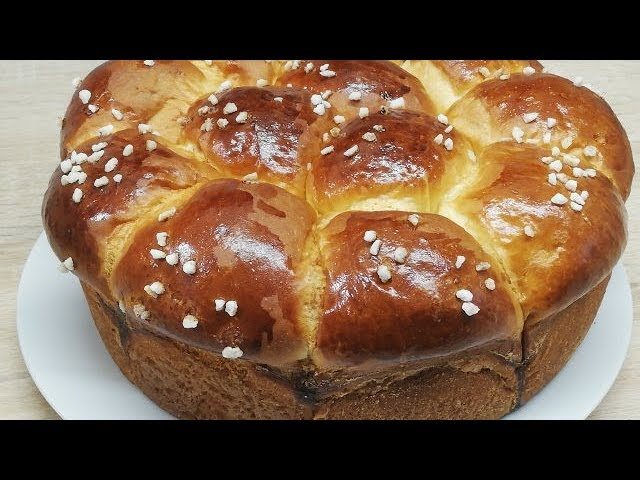 Brioche Moelleuse Et Filante Tres Facile Cuisine Rapide Youtube