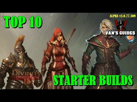 Divinity Original Sin 2: Top 10 Starting Builds