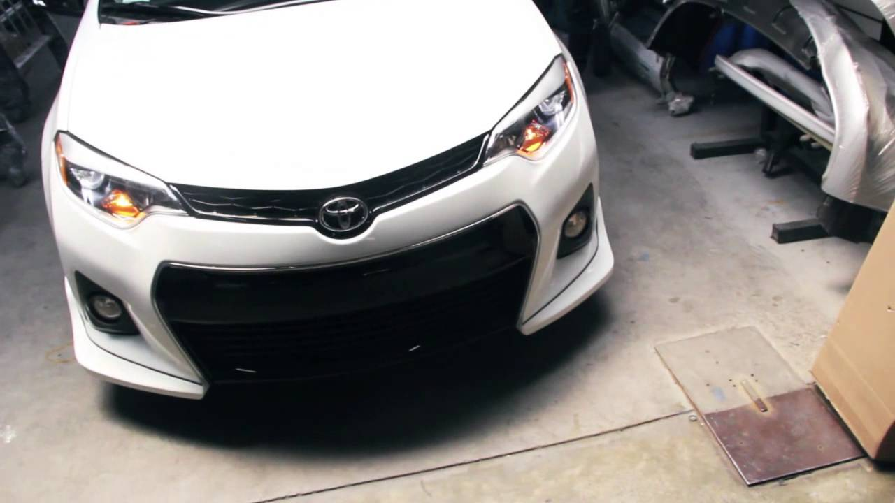 COROLLA 2014/2016 - BODY KIT Z TYPE - VIDEO INSTALATION ...