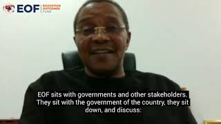 Former President Jakaya Kikwete discusses EOF's unique model