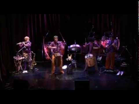 World Music Fabian Tejada y Kamaruko Percusión Argentina - Recital Completo en Velma Café 2012