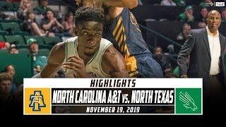 North Carolina A&T vs. North Texas Basketball Highlights (2019-20) | Stadium