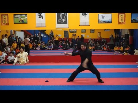2015 Seattle Shaolin Kungfu Academy Performances by Master Zhou