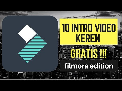 10 INTRO KEREN UNTUK ANDA - FREE COPYRIGHT (filmora Edition) #1