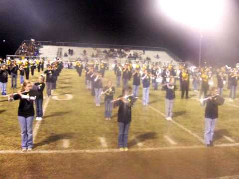 Alma high school and middle school band