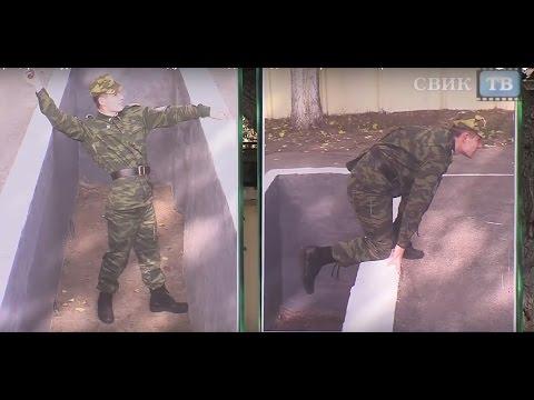 Офицеры и курсанты