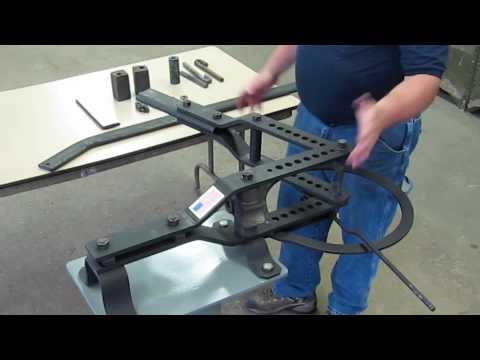 #2 Hossfeld Bender Instruction Owners Manual Universal Pipe Tube Tubing Die NO 2