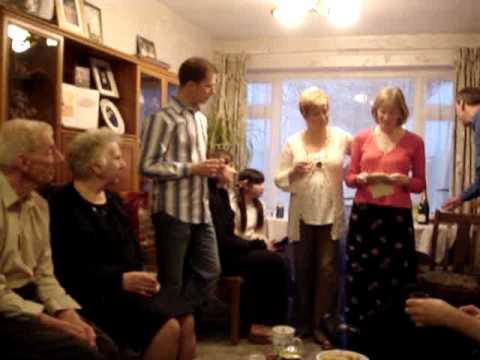 My Mum and Dad's 50th wedding anniversary  -speeches by 2 of 3 kids.