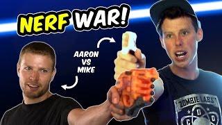 NERF WAR: AARON VS MIKE (Doomlands vs Modulus + Star Wars?)