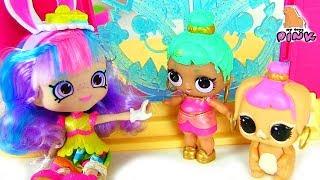 #ДЕВОЧКА, КОТОРАЯ ЛЮБИЛА ПРАЗДНИКИ! Мультфильм | Шопкинс на Русском | Игрушки с My Toys Pink