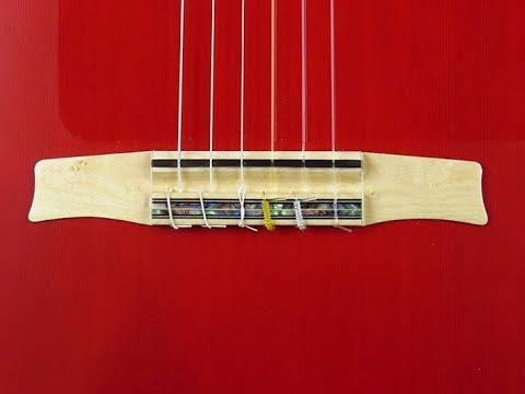 Bridge Series 1/ It`s role and how 120% it does impact your sound /How to choose a flamenco guitar