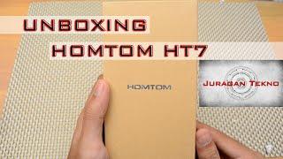 Unboxing Homtom HT7 : Smartphone Dgn Harga Ga Sampe 800RB !! (Juragan Tekno)