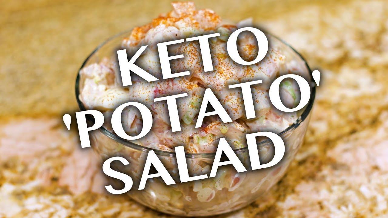 Keto Radish Potato Salad Recipe