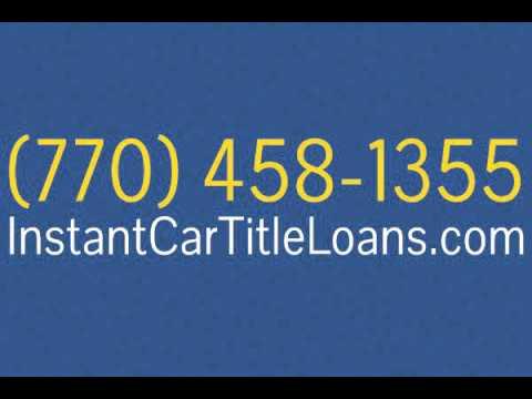 Instant Loans In Atlanta Ga