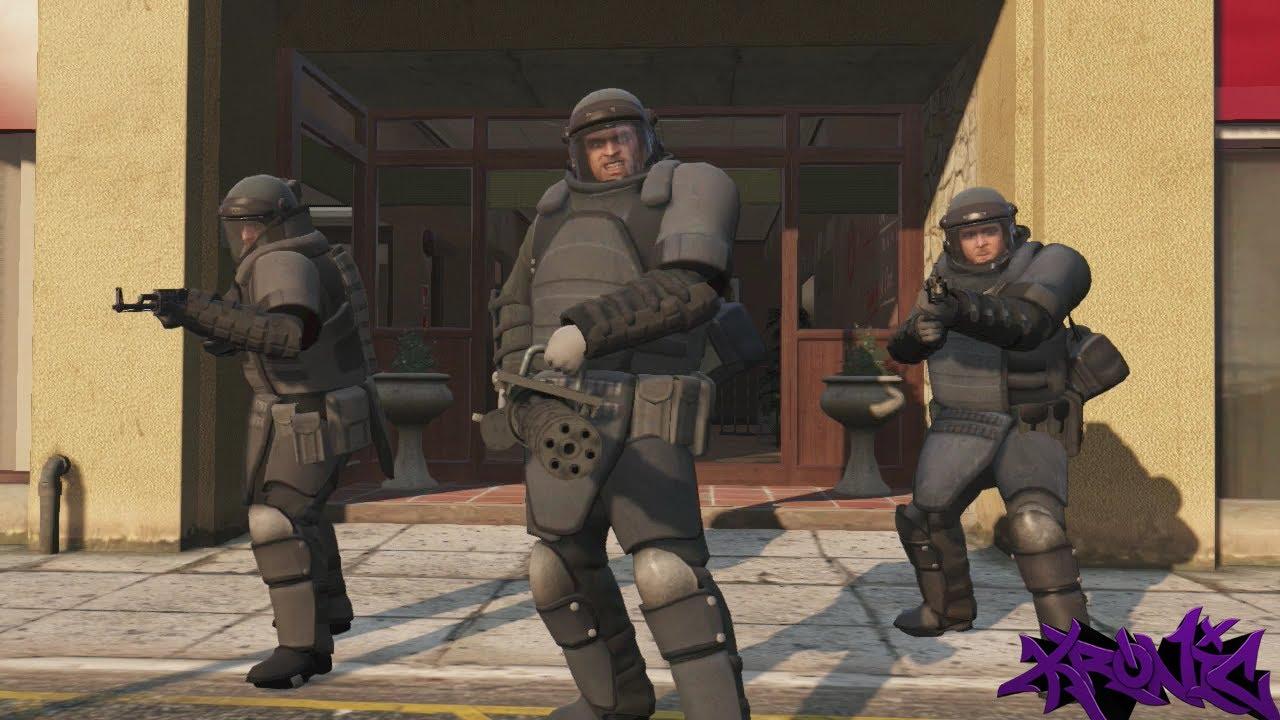 Gta 5 Juggernaut Suit Bank Heist Mission The Paleto Score Gta V Gameplay Youtube