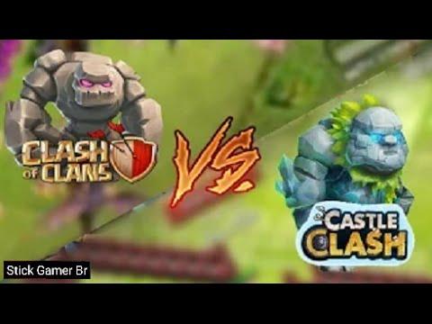 [TRETA] Clash Of Clans VS. Castle Clash