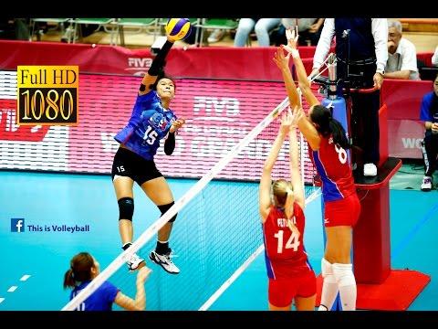 Thailand vs Russia   8 July 2016   Final Round   2016 FIVB Volleyball World Grand Prix