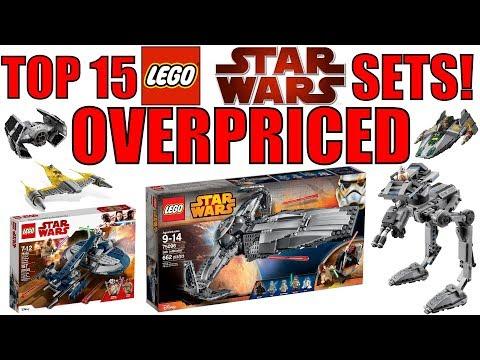 Top 15 OVERPRICED LEGO Star Wars Sets!